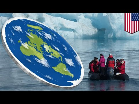 Flat Earthers plan Antarctic trip to reach edge of the world - TomoNews thumbnail