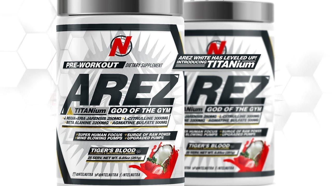 Arez Pre-Workout