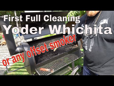 Cleaning the Yoder Wichita Smoker Loaded Offset