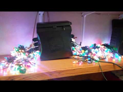 Gemmy Holiday Light Show with MP3 Port