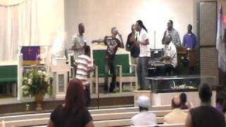 reunited sons of light ft darius brown singing he really cares for you 4 23 11 pt2