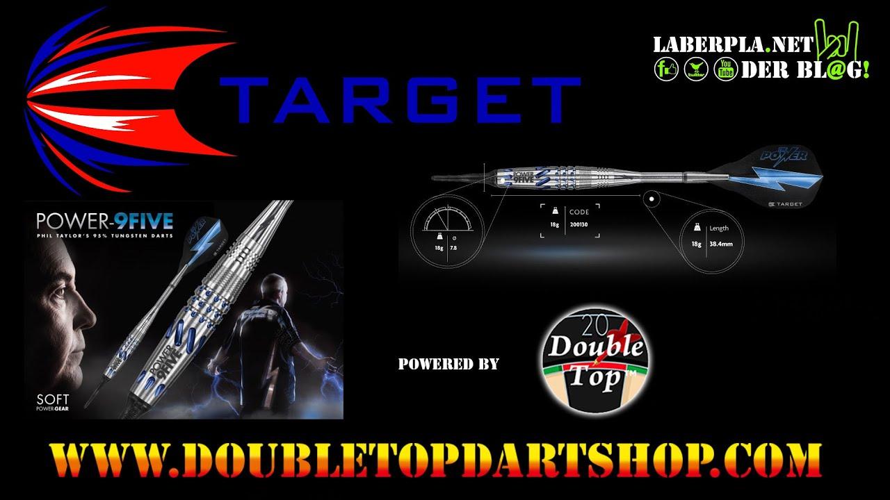 Target VAPOR 8 Black Tungsten Softdart inkl Satz EMPIRE/®/™ Flights