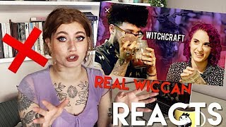 "Real Wiccan reacts to Buzzfeed ""We practice magic with a real witch"" 