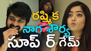Naga Shourya and Rashmika Mandanna Soup Game Turns into Kiss Game ll Chalo Movie The Soup Game