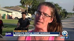 Port St. Lucie family victim of rental scam