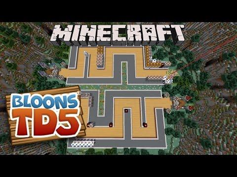 BLAZES BE BLAZIN! - Minecraft BLOONS TOWER DEFENSE!