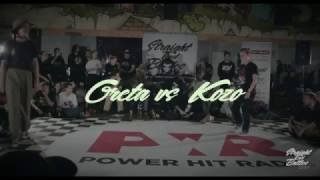 Straight End Battles | Greta vs Kozo | Popping Top 8 | 2k16