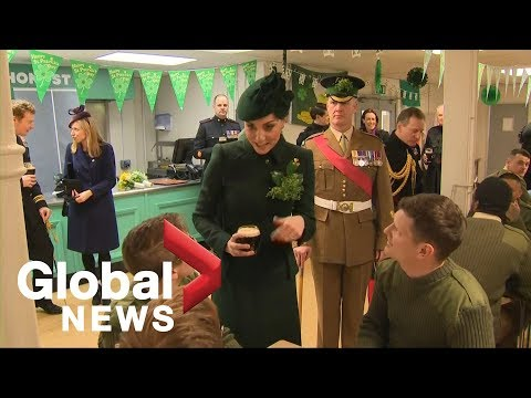 Kate Middleton, Prince William celebrate St. Patrick's Day