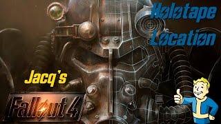 Fallout 4 - Jacq's Holotape Location
