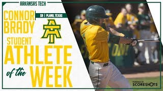 Arkansas Tech Student Athlete of the Week - Connor Brady
