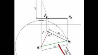 [Начертательная геометрия] Определение недостающей проекции точки.mp4