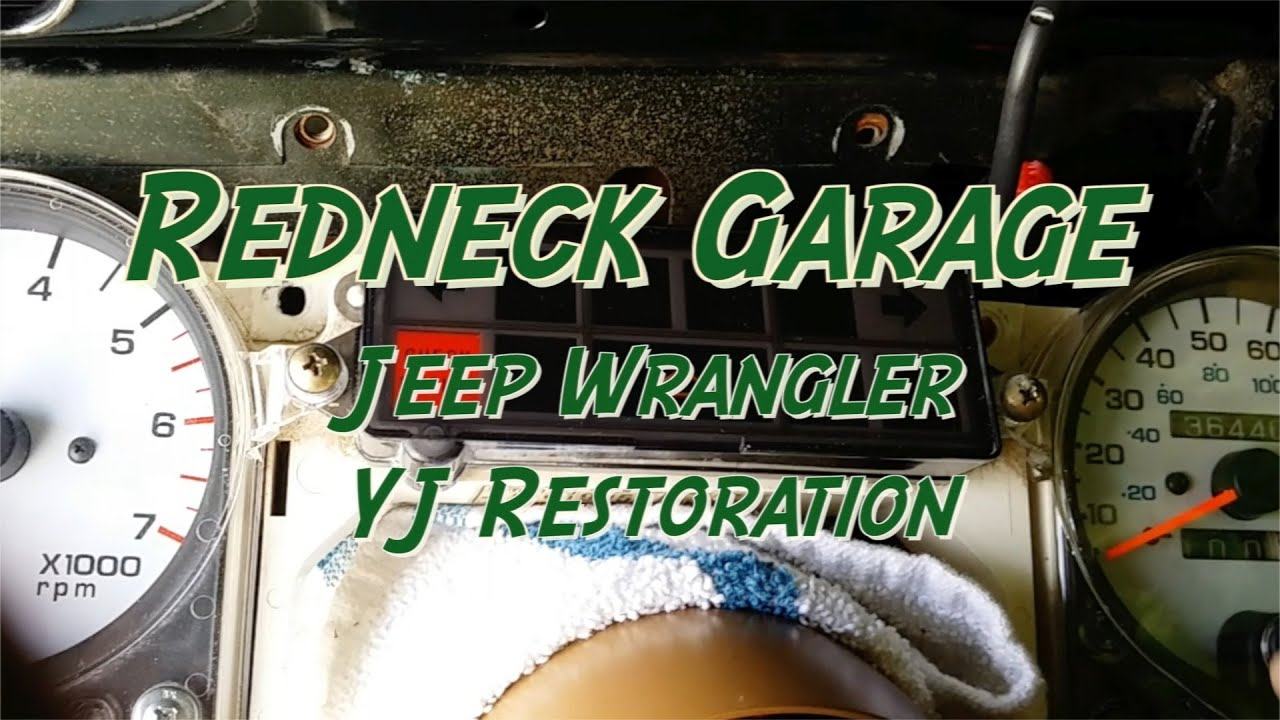 Jeep Yj Wrangler Delayed Or No Start Diagnosis Ecm Pcm Youtube Ac Unit Wiring Diagram For 1992