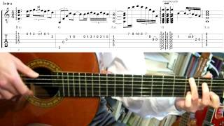 Spanish Guitar - Toni Braxton (Guitar lesson)