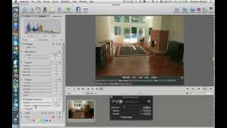 Aperture 3 Tutorial removing Shadows and Straightening Photos