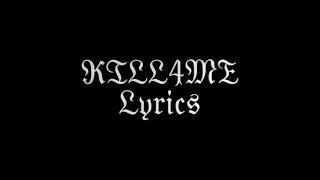 Скачать Marilyn Manson KILL4ME Lyrics