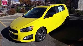 Test Drive : 2016 Chevrolet Sonic RS