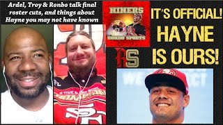 NFL 49ers Celebrate Sustaining Jarryd Hayne And A New Dynamic Young Group Of Stars On The Rise! thumbnail