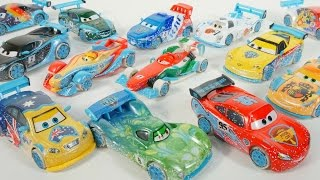 FULL COLLECTION DISNEY PIXAR CARS ICE RACERS DRIFT RACING FROSTY AUSTRALIA