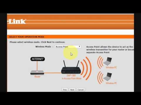 How to Configure D-Link DAP-1360 Wireless N Range Extender