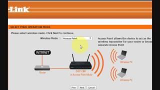 how to configure d link dap 1360 wireless n range extender