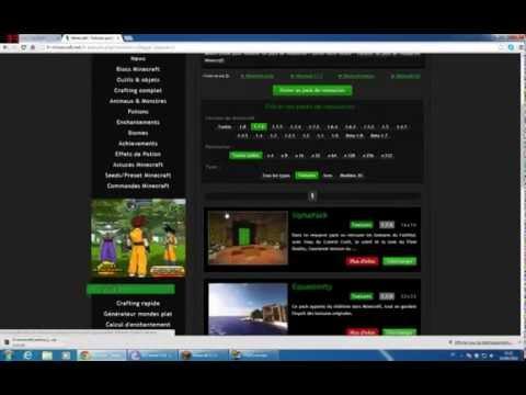 Comment mettre un texture pack Minecraft 1.15/1.14 cracker ou payer - YouTube