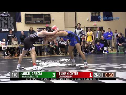 2019 ETR 170 final - Luke Nichter (Chambersburg) vs Angel Garcia (Mariana Bracetti Academy)