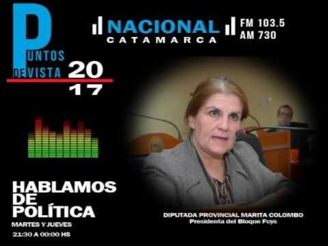 Diputada Marita Colombo|PUNTOS DE VISTA |RADIO NACIONAL CATAMARCA