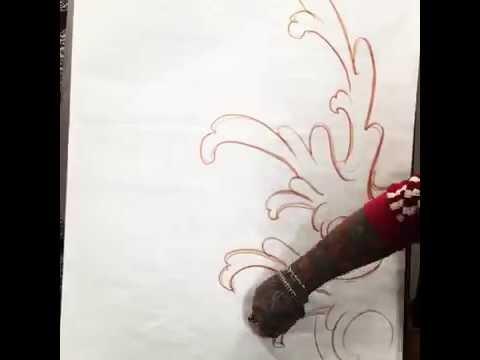 Desenho crânio