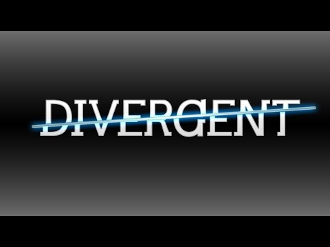 How to Create The DIVERGENT Text Effect in Photoshop | Photoshop Tutorial