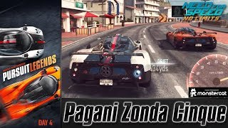 Need For Speed No Limits: Pagani Zonda Cinque | Pursuit Legends (Day 4 - Engage)