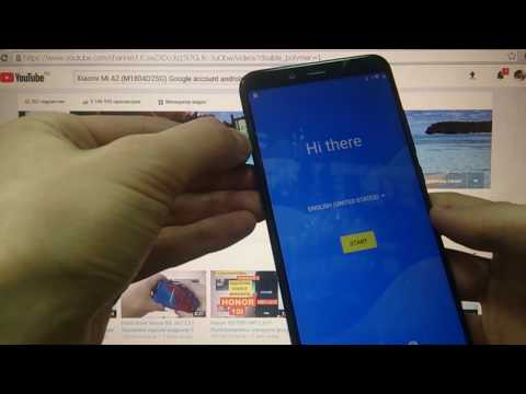 Xiaomi Mi A2 FRP Разблокировка аккаунта Google Android 9