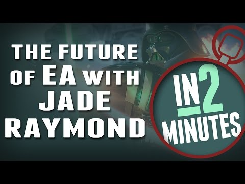 How Jade Raymond Makes EA Exciting Again - In 2 Minutes