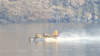 """CANADAIR CL-215 - FIREBOMBER """"DUCK""""flying boat"""