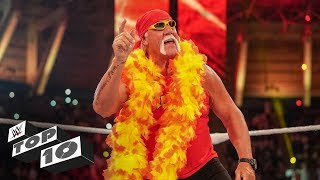 Video Hulk Hogan's greatest moments: WWE Top 10, Nov. 3, 2018 download MP3, 3GP, MP4, WEBM, AVI, FLV November 2018