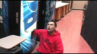 This is a comedic parody of the film _127 Hours_ about a college st...