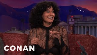 """Tracee Ellis Ross Acts Out A Clip From """"Black-ish""""  - CONAN on TBS"""