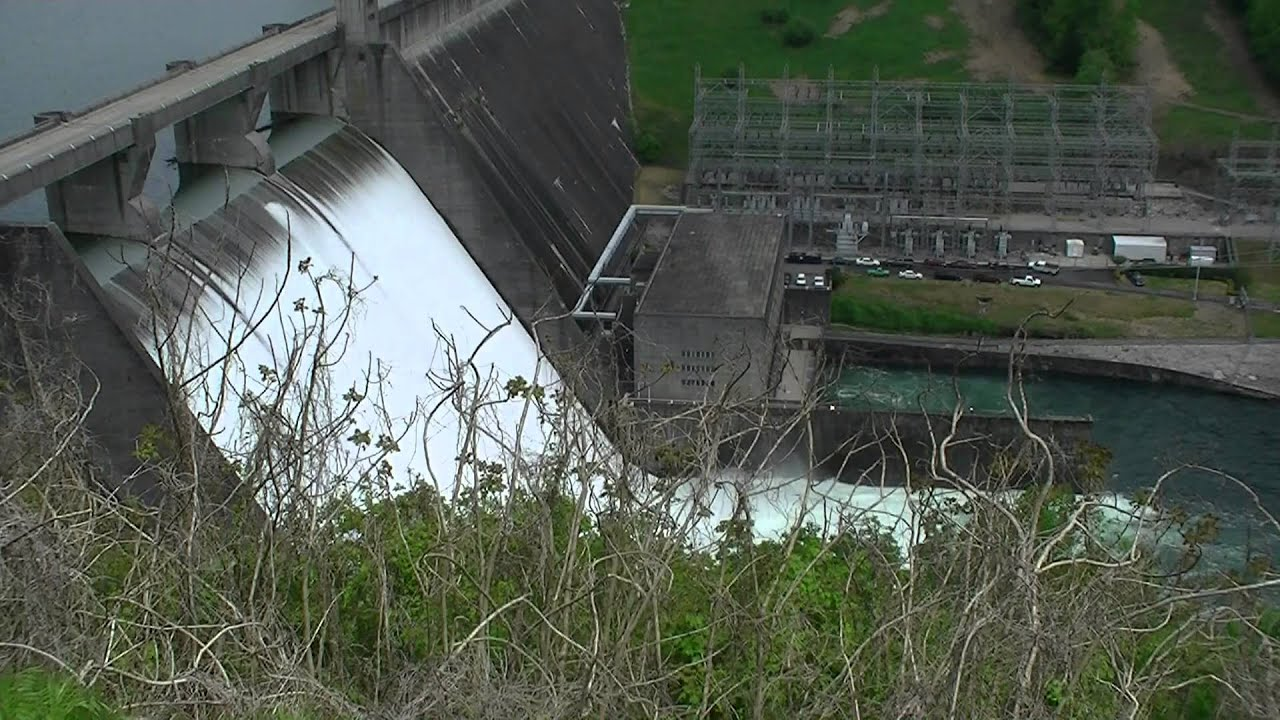 amazing norris dam tennessee spillways may day 2013 youtube