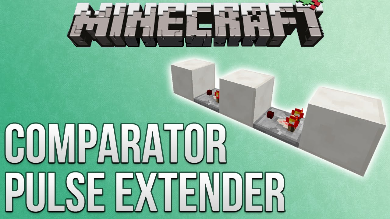 minecraft how to craft a comparator