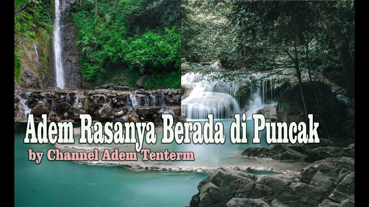 Rasa Adem Air Mengalir di Sungai Puncak - YouTube