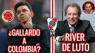 💎 RIVER HOY ►¿GALLARDO A LA SELECCION COLOMBIANA?► RIVER DE LUTO ► LA HABILIDAD DE BOLOGNA⚪🔴⚪
