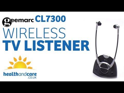Geemarc Wireless TV Listener CL7300
