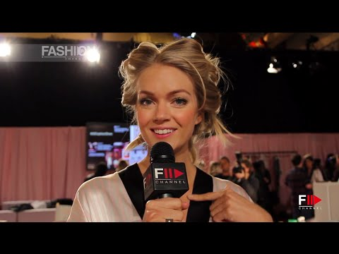 LINDSAY ELLINGSON Interview VICTORIA'S SECRET 2014 by Fashion Channel