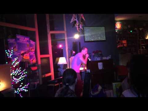 M.G. @ Flirt Cafe Bar 11.04.2015 OPEN MIC NIGHT