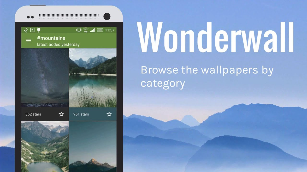 wonderwall hd nature wallpaper app with unique features android