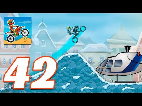 Moto X3M Bike Race Game COOL MATH WINTER - Gameplay Android & IOS Game - Moto X3m