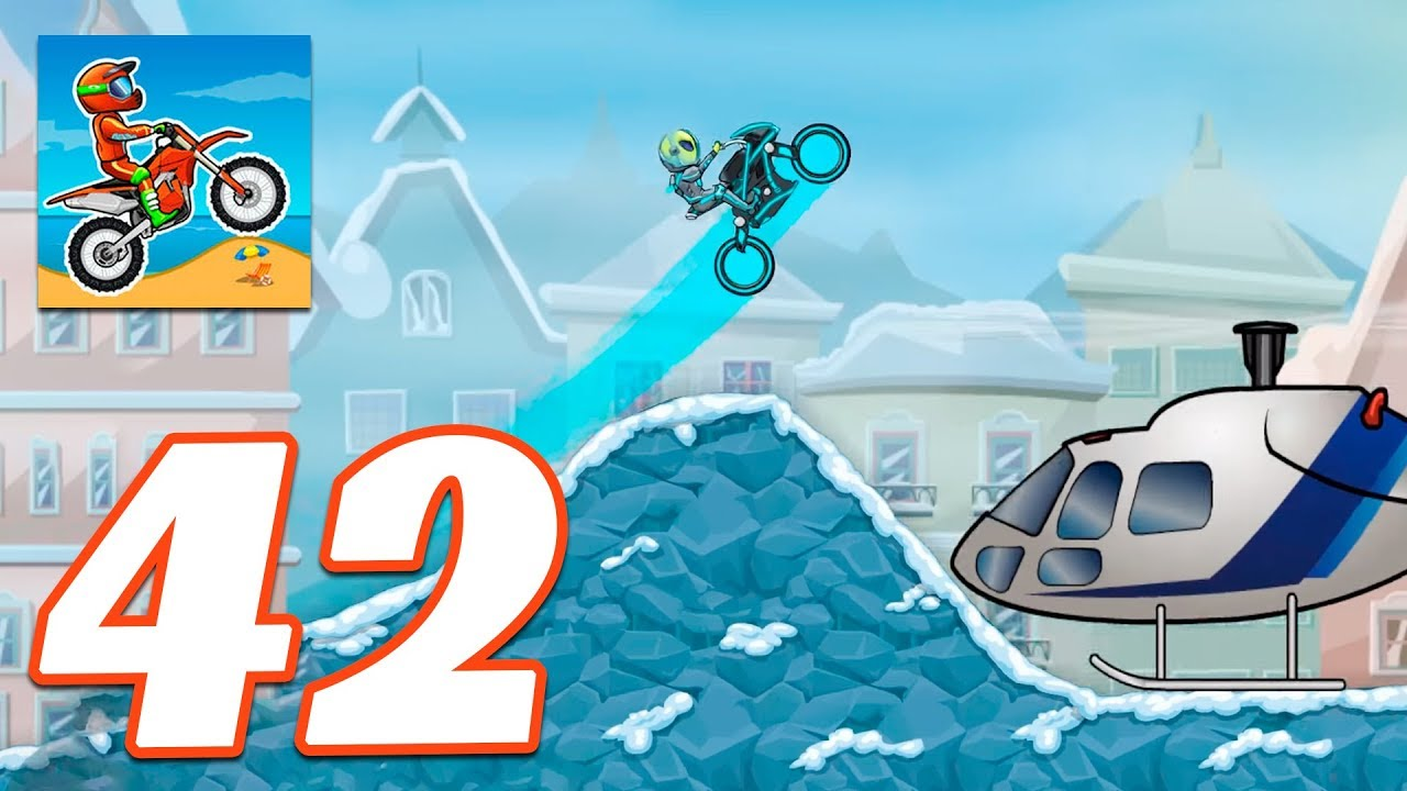Moto X3m Bike Race Game Cool Math Winter Gameplay