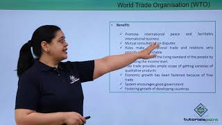 World trade Organisation (WTO)