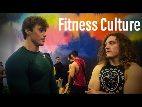 FITNESS CULTURE GRAND OPENING W/ DAVID LAID & DYLAN MCKENNA!!!