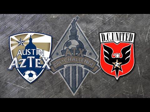 #ATXPROCHALLENGE: Austin Aztex vs. D.C. United