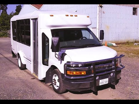 Chevy 3500 Shuttle Bus RV Conversion - For Sale- SOLD